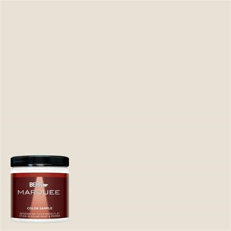 home depot behr marquee paint colors behr marquee 8 oz mq3 13 crisp linen interior exterior