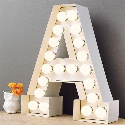 Large Alphabet Wall Stickers alphabet hollywood light by letteroom notonthehighstreet com