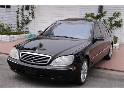 Mercedes For Sale By Owner by 2002 Mercedes S Class For Sale By Owner In