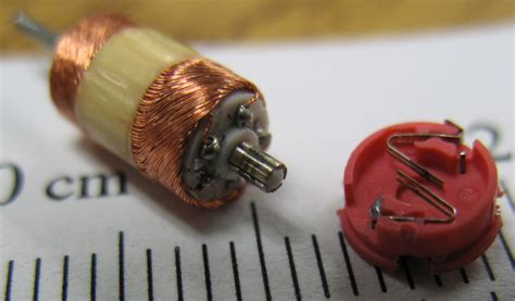 Tiny Electric Motor by File Tiny Motor Windings Commutator Brushes In Zip