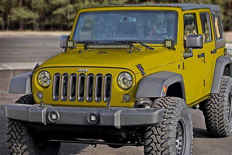 led light bar for jeeps jeep wrangler jk and jk unlimited 07 2016 led light bar