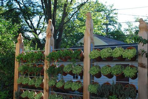 backyard planter ideas outdoor backyard garden house design with hanging pots