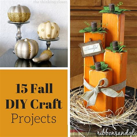 fall craft projects for fall crafts and diy projects weekend craft