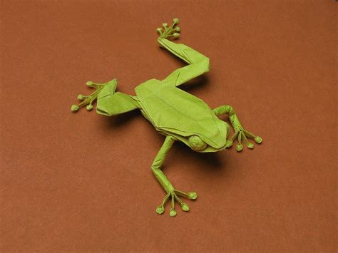 origami tree frog 17 best images about origami on hydrangeas