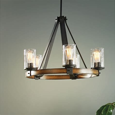 lowes chandelier lighting shop kichler lighting barrington 3 light distressed black