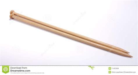 wooden knitting needles wooden knitting needles royalty free stock photos image