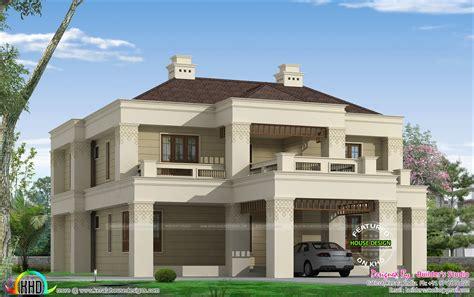 colonial style home design in kerala kerala colonial home kerala home design and floor plans