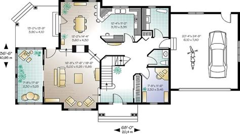 house plans open concept new home plans with open concept home deco plans