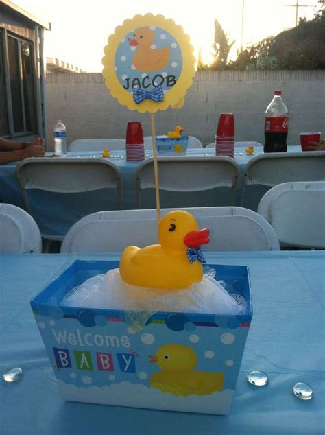 Rubber Duckies Baby Shower Ideas Baby Shower