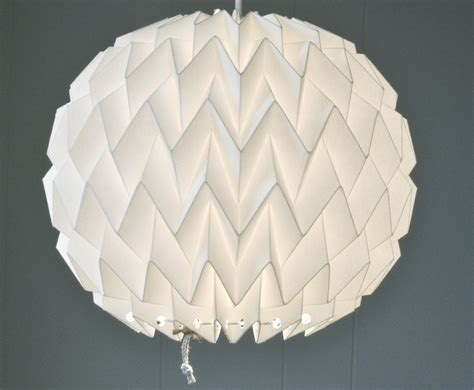 origami light shades origami paper l shade white fiberstore by