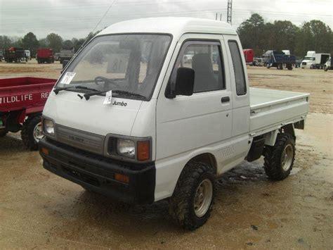 Daihatsu 4x4 Mini Truck by 1998 Daihatsu S83p Jumbo 4x4 Hijet Mini Truck