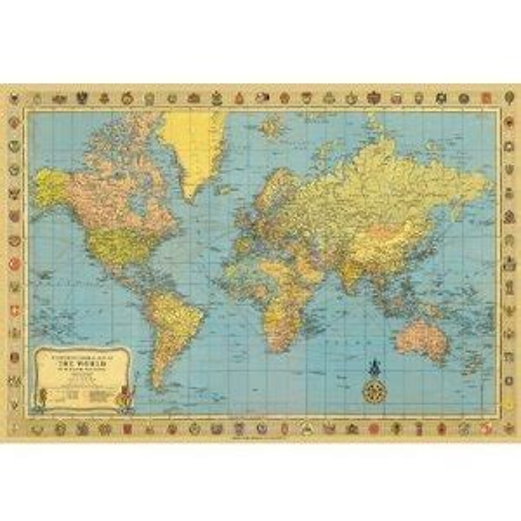 decoupage map paper world map 2 decorative decoupage paper poster print gift
