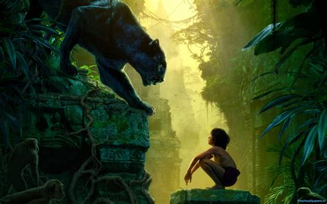 pictures from the jungle book 2016 the jungle book poster wallpapers