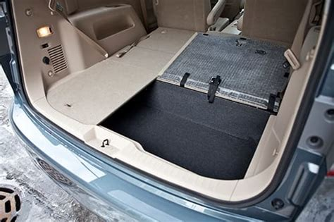 Minivan Cargo Space by Nissan Quest Cargo Space