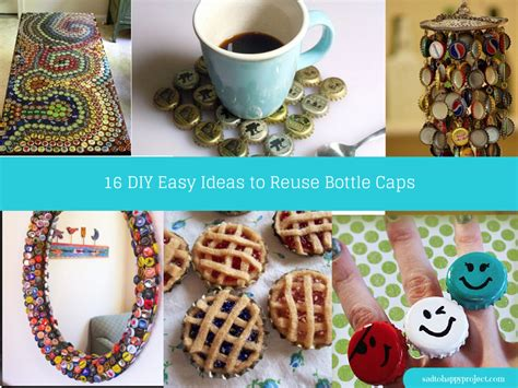 simple diy crafts for 17 creative diy bottle cap and craft ideas to reuse
