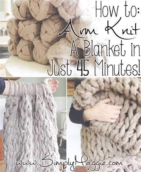 arm knit 25 diy arm knitting ideas and tips diy projects