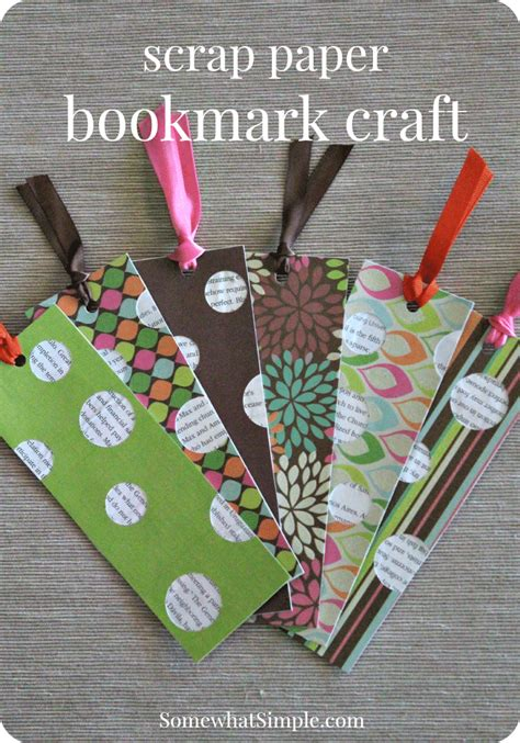 book craft for bookmark craft for a book review somewhat simple