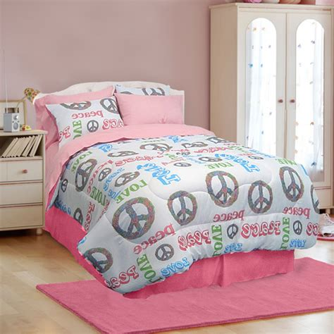 peace bedding sets veratex peace and microfiber bed in a bag bedding set