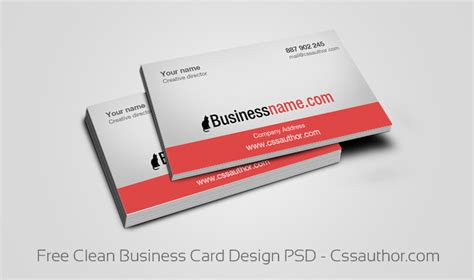 make a business card free free business card templates psd freebie no 64