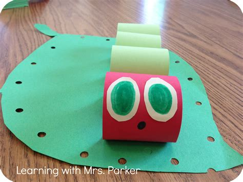 caterpillar crafts for the hungry caterpillar craft learning with mrs