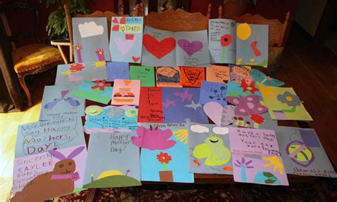 mothers day cards to make in school elementary school children create s day cards for