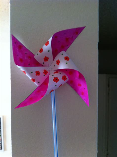 pinwheel craft for day 20 pinwheels daily craft project