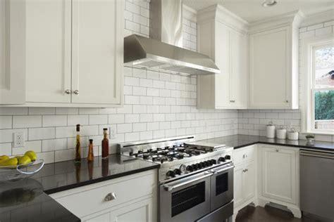 subway tiles for backsplash in kitchen how to choose the right backsplash for your granite
