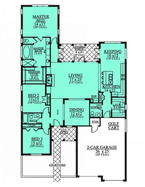 3 bed 2 bath house plans 654190 1 level 3 bedroom 2 5 bath house plan house