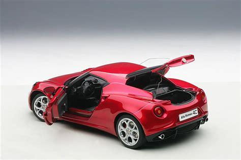 2013 Alfa Romeo 4c by Autoart 2013 Alfa Romeo 4c 70186 In 1 18 Scale