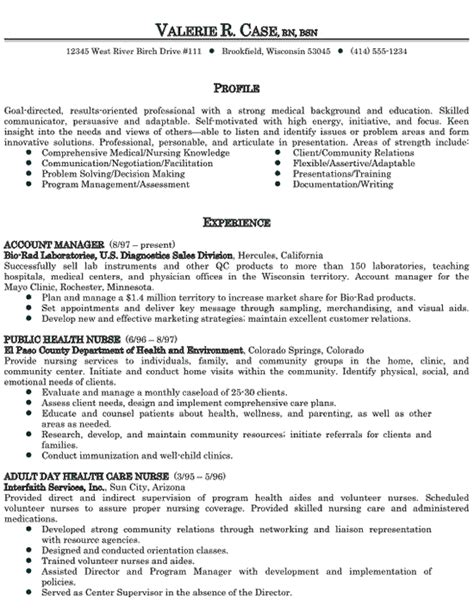 healthcare medical resume new graduate nursing resume