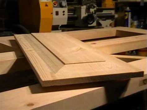 panel woodworking diy 4 panel wooden door part 4 raised panel cutting with