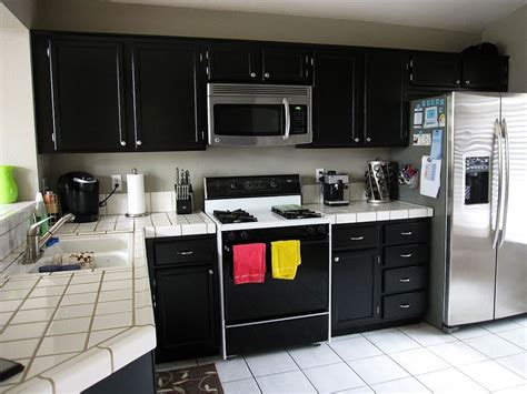 kitchen black cabinets black kitchen cabinets homefurniture org