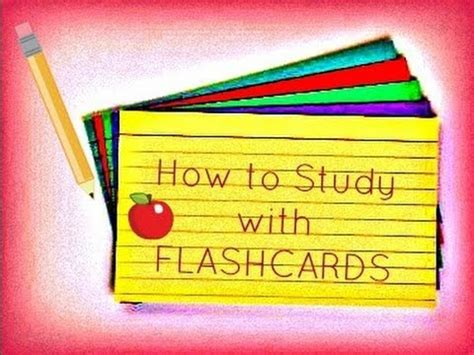 how to make a flash card for studying studying with flashcards how to study for exams