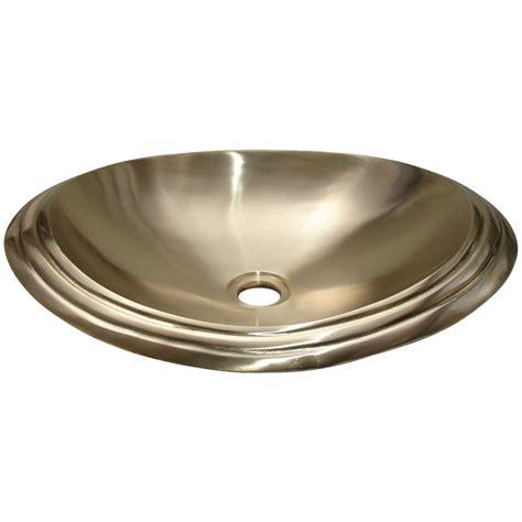 oval kitchen sinks cast bronze sink oval shiny yellow vani crafts