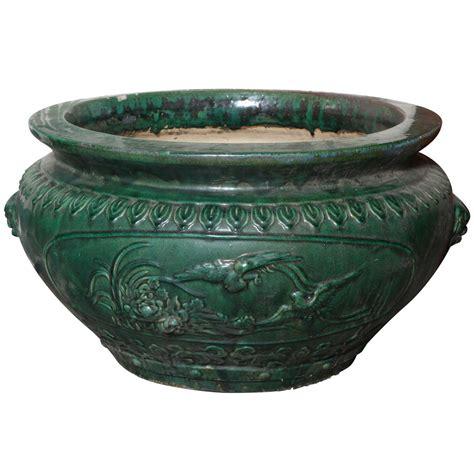 large ceramic planter antique large glazed ceramic planters hunan province at