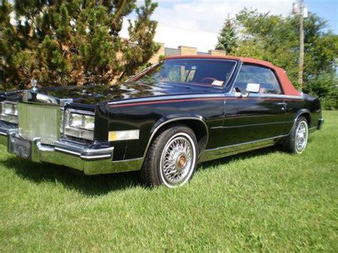 85 Cadillac Eldorado For Sale by Find Used 85 Cadillac Eldorado Convertible In Troy