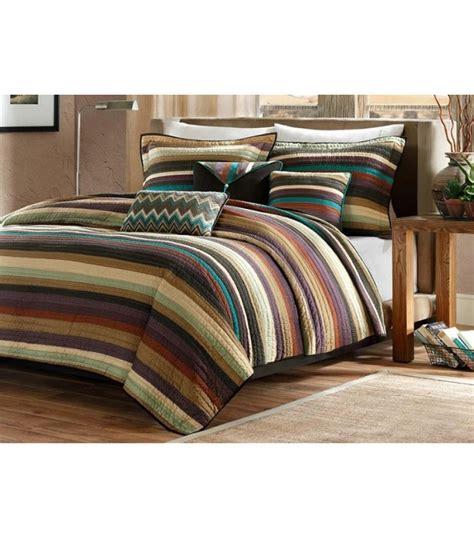 cabin comforter sets lodge cabin striped comforter set king size