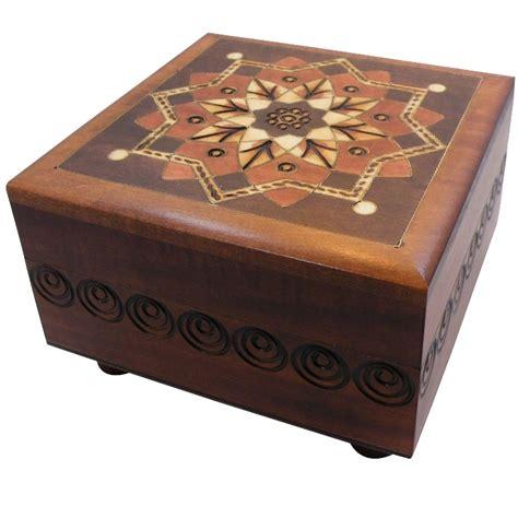 woodworking puzzle box kaleidoscope secret wooden puzzle box