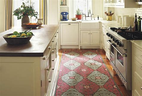 area rug kitchen loft cottage an area rug in the kitchen where do you