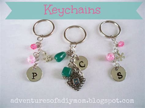 how to make a keychain with how to make your own keychains adventures of a diy