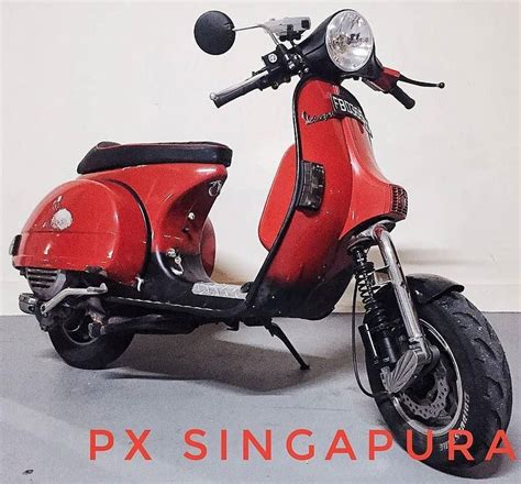 Modif Vespa Px Racing by 72 Curtidas 1 Coment 225 Rios Vespa Px Vespapxnet No