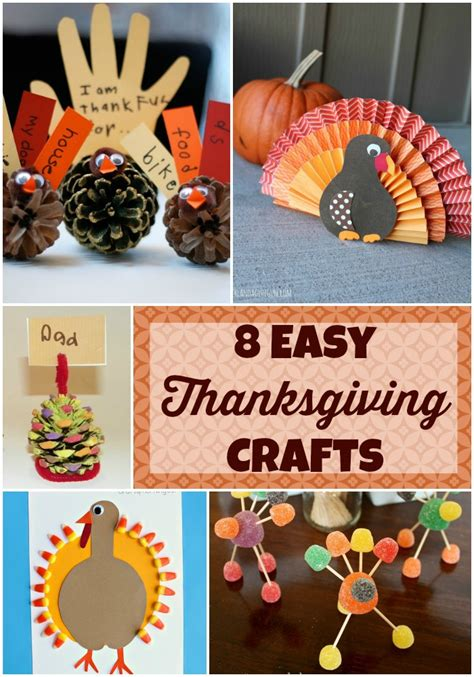 easy thanksgiving crafts for eight easy thanksgiving crafts