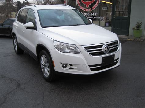 Volkswagen Albany Ny by 2011 Volkswagen Tiguan Se 4motion Stock 15035 For Sale