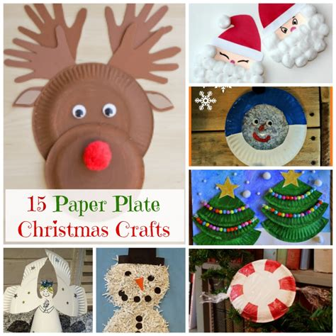 santa paper plate craft paper plate crafts how wee learn