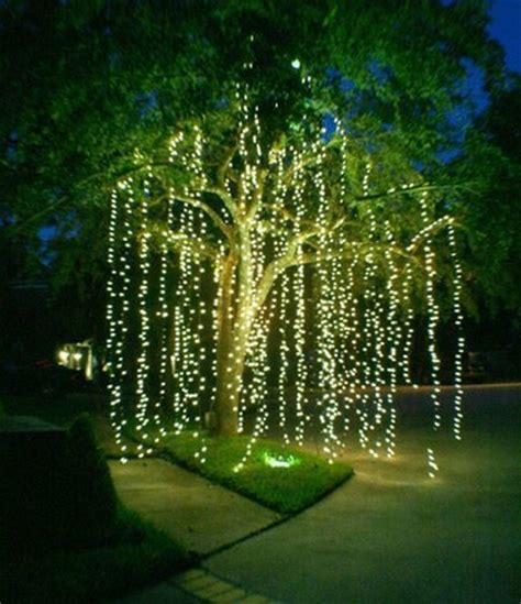 net lights for tree 20 amazingly pretty ways to use string lights