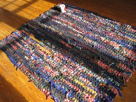 how to crochet a rag rug portland diy pendleton crochet scrap wool rag rugs
