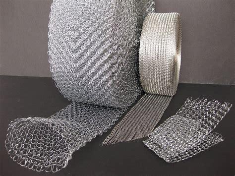 knitting with wire knit wire meshes drahttechnik karg maschinenbau gmbh