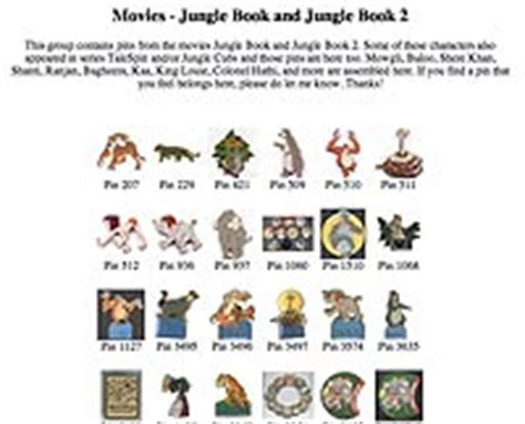 jungle book characters pictures and names links 5 the jungle book collection