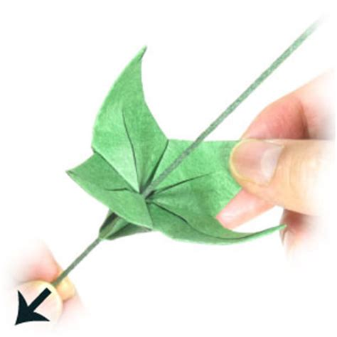 origami with stem new origami flower with stem origami