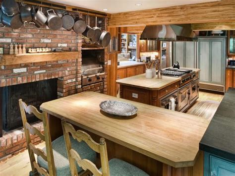 country kitchen countertop ideas your home country kitchens options and ideas hgtv